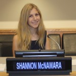 Shannon McNamara, founder of SHARE in Africa and winner of a awards, including the United Nations Youth Achievement Recognition Award