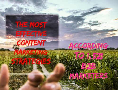 The Most Effective Content Marketing Strategies (According to 1,521 B2B Marketers)